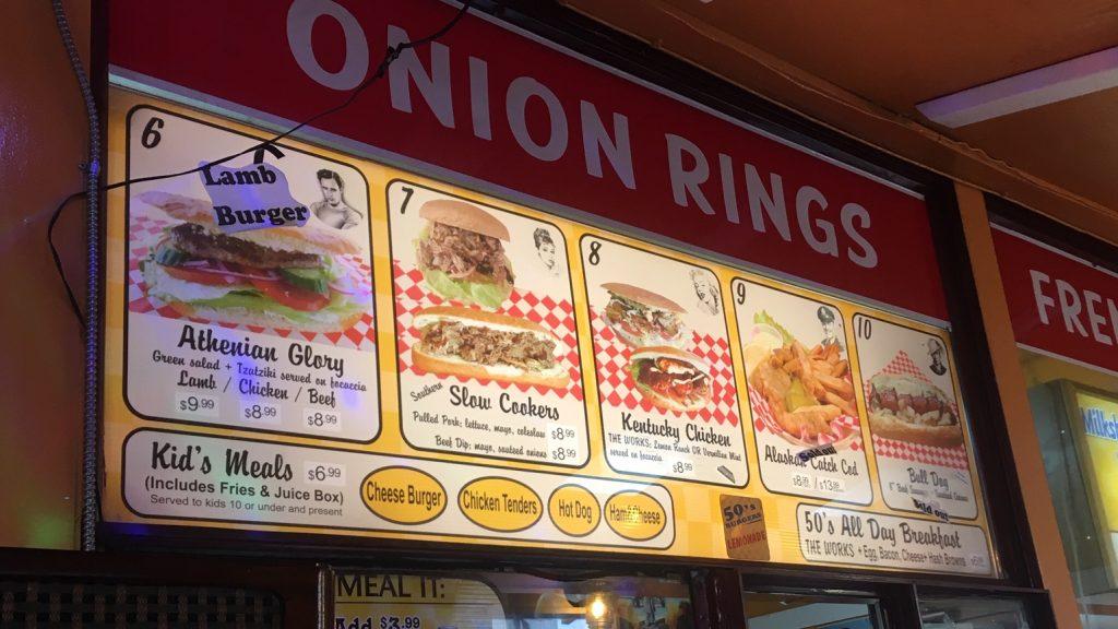 """バーナビー(バンクーバー)でおすすめのハンバーガーレストラン50's Burgers"""""""