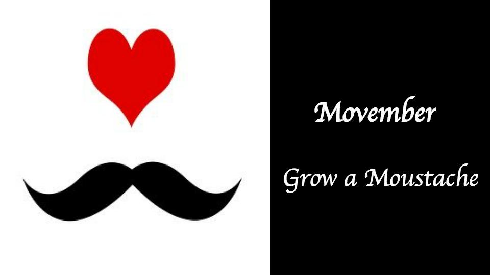 【カナダ】Movember: 11月は口ひげを伸ばしてチャリティーに参加しよう!