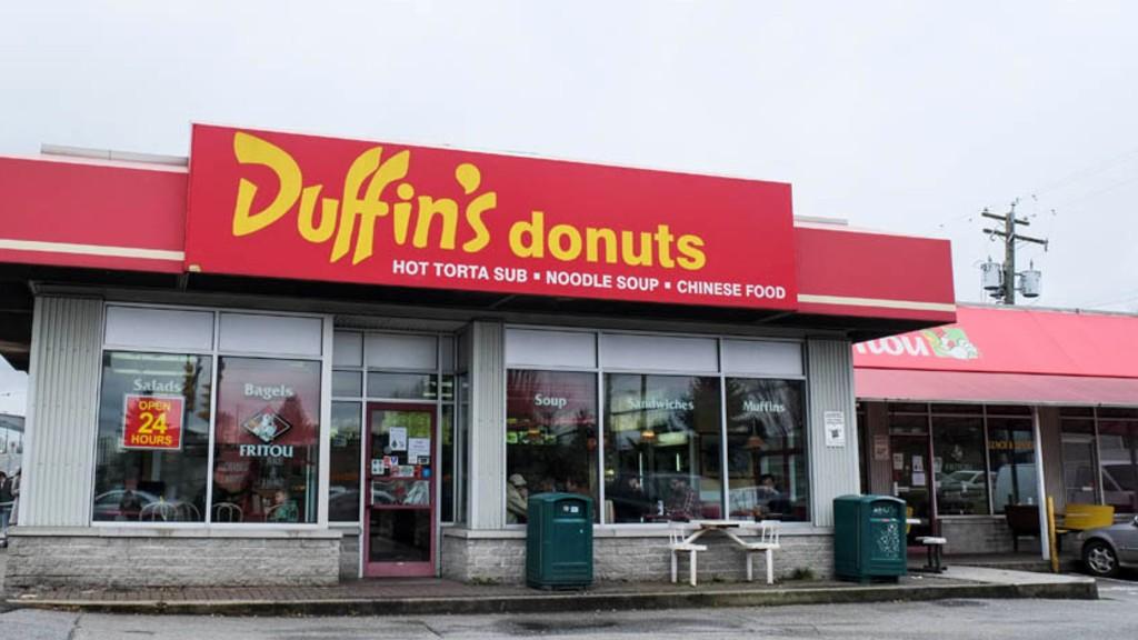 バンクーバーのドーナツショップ:地元民に愛されるDuffin's Donuts